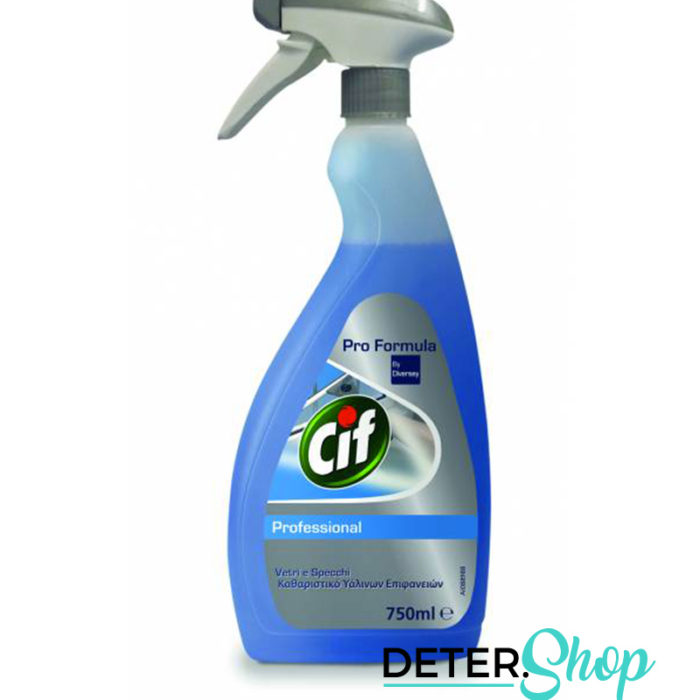 DETERSHOP CUCINA CIF Cif Vetri e Specchi 750ml