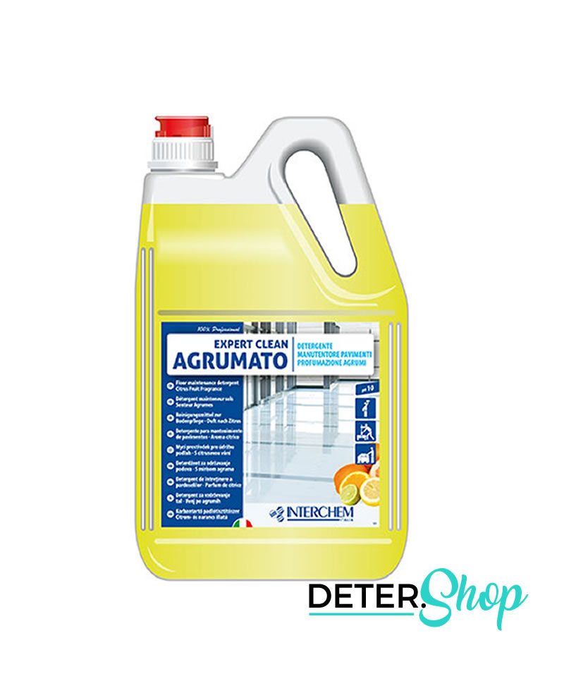 DETERSHOP PAVIMENTI INTERCHEMITALIA EXPERT CLEAN AGRUMATO 5LT