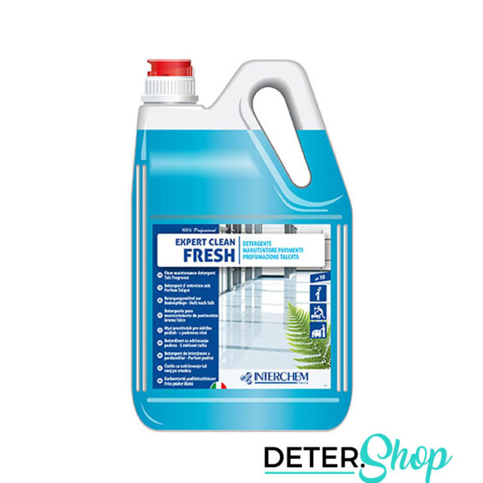 DETERSHOP PAVIMENTI INTERCHEMITALIA EXPERT CLEAN FRESH 5LT