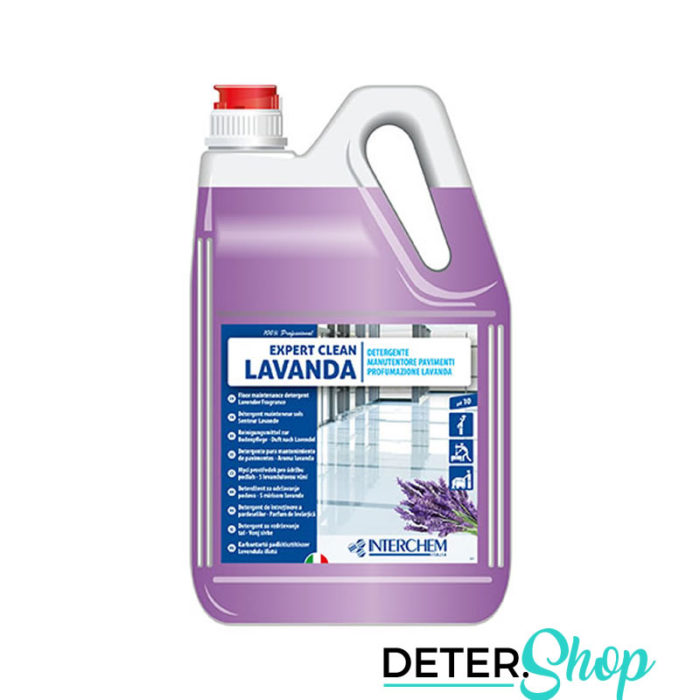 DETERSHOP PAVIMENTI INTERCHEMITALIA EXPERT CLEAN LAVANDA 5LT