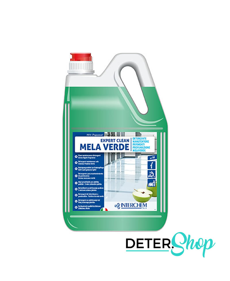 DETERSHOP PAVIMENTI INTERCHEMITALIA EXPERT CLEAN MELA VERDE 5LT