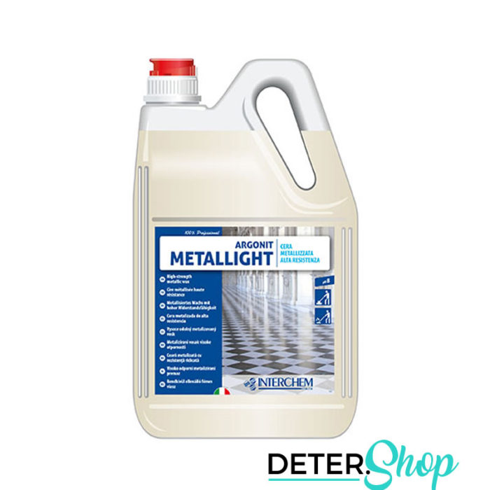 DETERSHOP PAVIMENTI INTERCHEMITALIA EXPERT CLEAN METALLIGHT 5LT