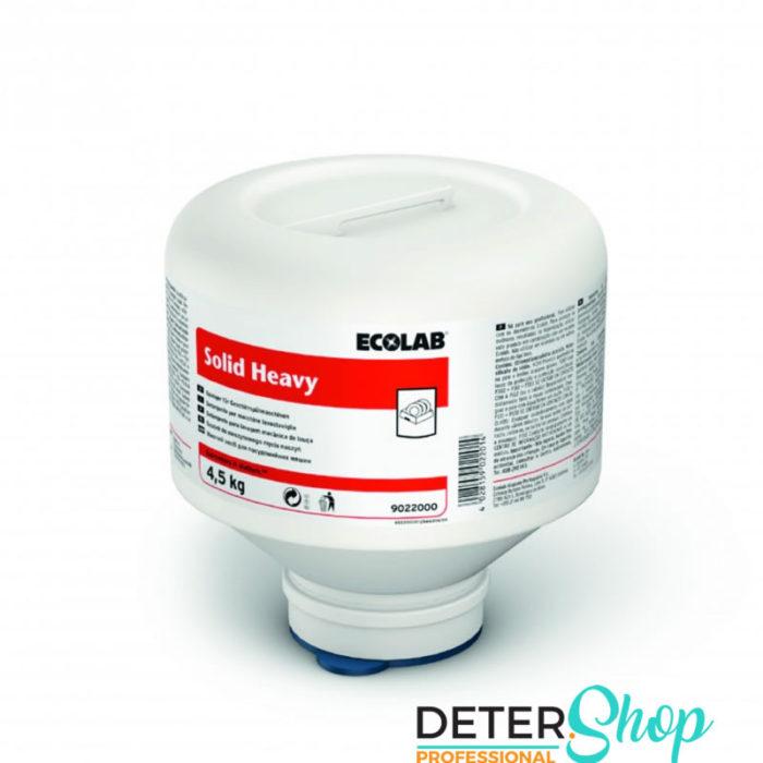 DETERSHOP ECOLAB SOLID HEAVY 4 5KG