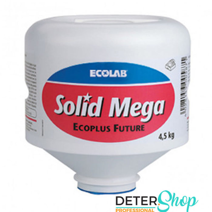 DETERSHOP ECOLAB SOLID MEGA 4 5KG